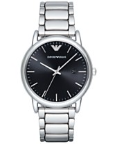 91e44a2ca0ee Emporio Armani Men s Luigi Stainless Steel Bracelet Watch 43mm AR2499