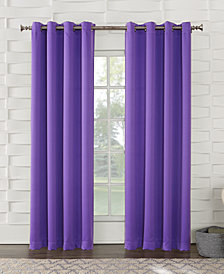 "Sun Zero Grant Room Darkening Grommet 54"" x 95"" Curtain Panel"
