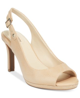 Image of Giani Bernini Blankaa Slingback Heels, Created for Macy's