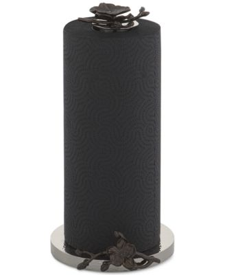 Michael Aram Black Orchid Collection Paper Towel Holder Reviews Serveware Dining Entertaining Macy S