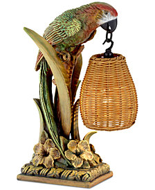 kathy ireland Home by Pacific Coast Parrot Paradise Table Lamp