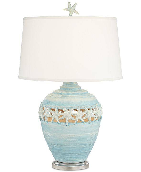 Kathy Ireland Pacific Coast Blue Starfish Table Lamp