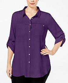 Plus Size Classic Tunic Shirt