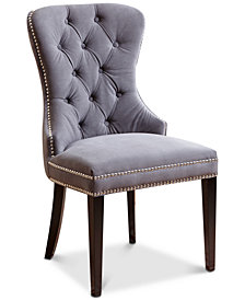Dyana Tufted Dining Chair, Quick Ship