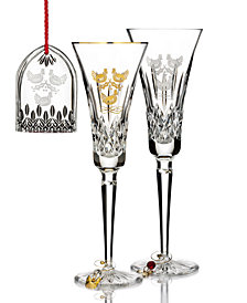Waterford 12 Days Lismore Three French Hens Collection
