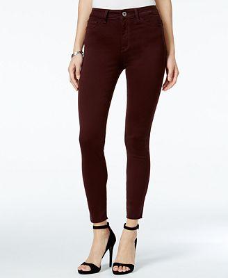 DL 1961 Jessica Alba No. 2 Ultra High-Rise Super-Skinny Jeans