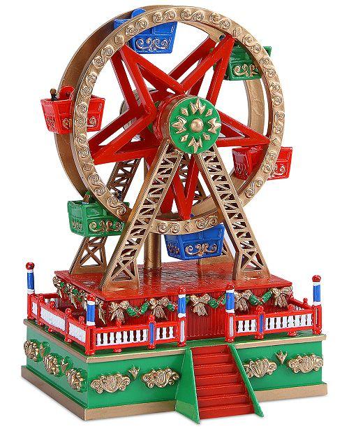 Mr. Christmas Mini Carnival Ferris Wheel Music Box