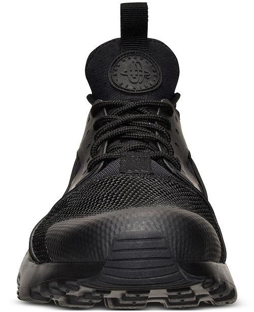 717beeacfda0f9 Nike Men s Air Huarache Run Ultra Running Sneakers from Finish Line ...