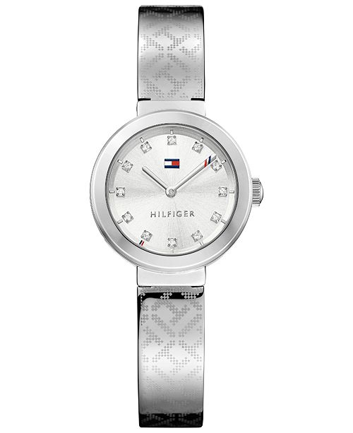 4cd99a03 ... Tommy Hilfiger Women's Sophisticated Sport Stainless Steel Bangle  Bracelet Watch 28mm 1781714 ...