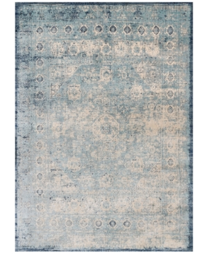 "Loloi Anastasia Af-14 Light Blue/Ivory 9' 6"" Round Area Rugs"