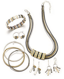 Nine West Tri-Tone Fashion Jewelry Collection
