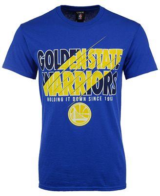 Unk Men's Golden State Warriors Slash T-Shirt