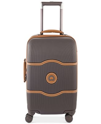 "Image of Delsey Chatelet Plus 21"" Carry-On Hardside Spinner Suitcase"