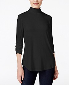 Petite Turtleneck Top, Created for Macy's