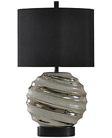 StyleCraft Silver Table Lamp