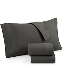 Shavel Micro Flannel® Solid 3-Pc. Twin XL Sheet Set