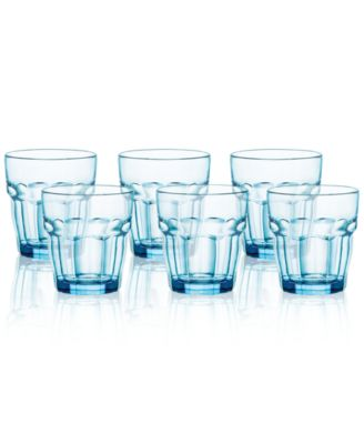 Rock Bar Set of 6 Double Old Fashioned Glasses