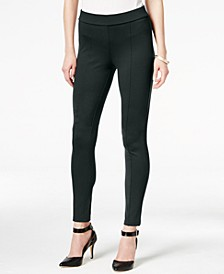 Petite Stretch Ponte Leggings, Created for Macy's