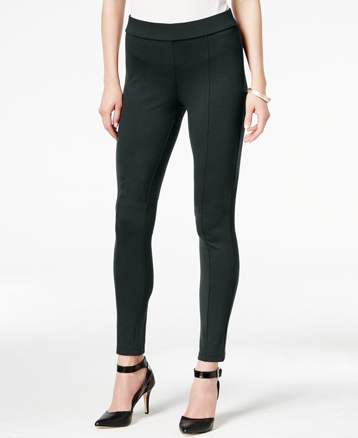 Style & Co - Stretch Seam-Front Ponte Pants
