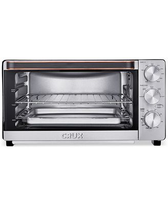 Crux CRX 6 Slice Convection Toaster Oven Created for Macy s