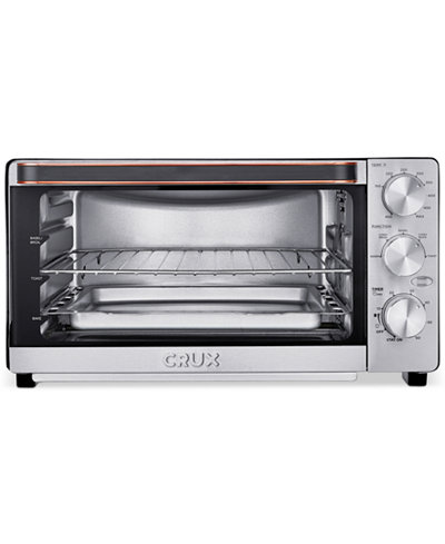 Crux CRX14543 6-Slice Convection Toaster Oven, Created for Macy's