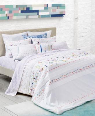 CLOSEOUT! Kalkan Embroidered Twin/Twin XL Duvet Set