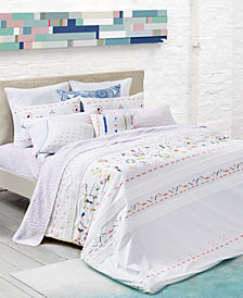 CLOSEOUT! bluebellgray Kalkan Embroidered Bedding Collection