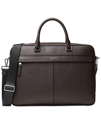 6cc2aec1ea4ea Michael Kors Men s Odin Resina Large Briefcase   Reviews - Bags   Backpacks  - Men - Macy s