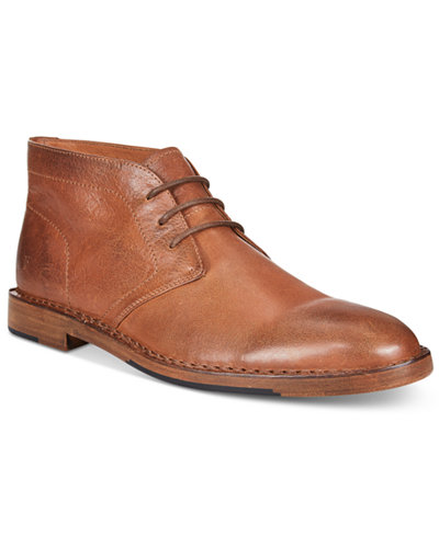 Frye Men's Mark Leather Chukka Boot - All Men's Shoes - Men - Macy's
