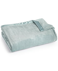 CLOSEOUT! Berkshire Classic Velvety Plush King Blanket