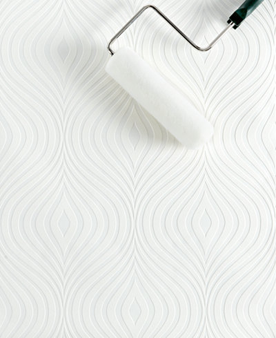 Graham & Brown Curvy Paintable Wallpaper