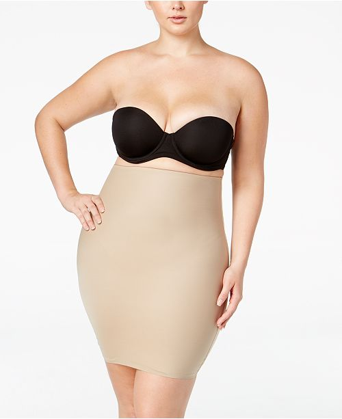 8656643b21 SPANX Women s Plus Size Two-Timing Half Slip 10045P   Reviews ...