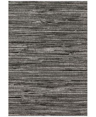 "Emory EB-02 Grey/Black  7'7""x10'6"" Area Rug"