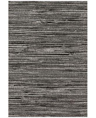 Loloi Emory Eb 02 Grey Black 7 7 X10 6 Area Rug Rugs Macy S