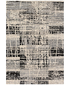 "Loloi Emory EB-06 Grey/Multi 2'5""x7'7"" Runner Area Rug"