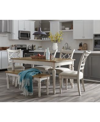 Cape May Dining Table Created For Macys Kitchen Furniture - Macys dining room sets