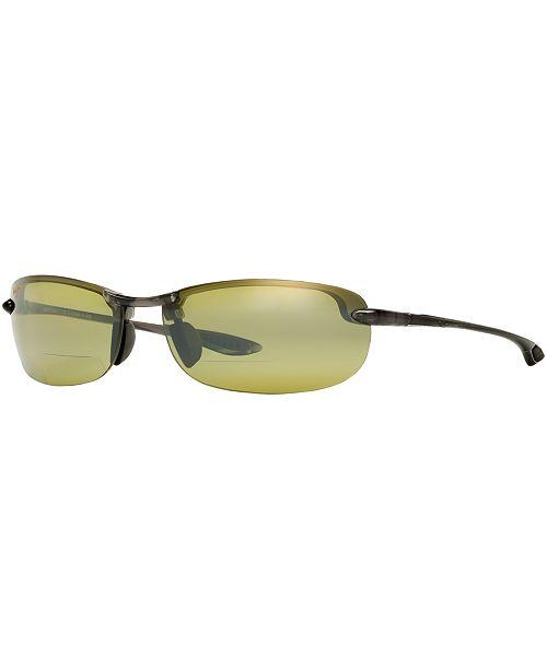 Maui Jim Polarized Sunglasses, Makaha Reader 63 1.5 or 2.5 or 2.5