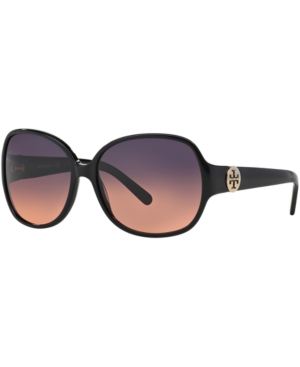 Tory Burch Ty7026 Black Square Sunglasses