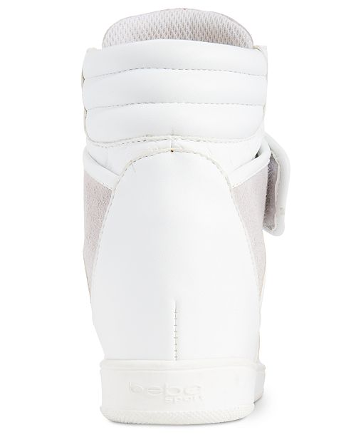 a9ab2481c3e bebe Sport Colby Wedge Sneakers   Reviews - Sneakers - Shoes - Macy s