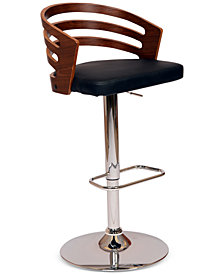 Adele Swivel Bar Stool, Quick Ship