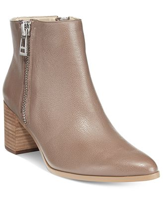 CHARLES By Charles David Uma Side-Zip Booties