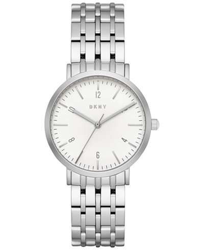 DKNY Women's Dress Case Stainless Steel Bracelet Watch 36mm NY2502
