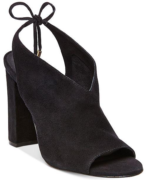 bc008797b Steve Madden Women s Saffron Peep-Toe Block-Heel Sandals ...