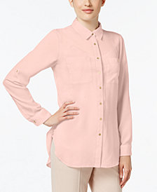 Calvin Klein High-Low Shirt