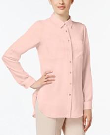 Calvin Klein High-Low Shirt