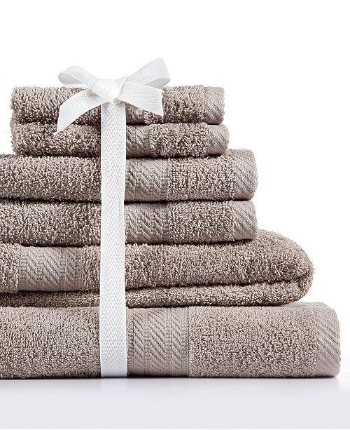 Baltic Linens Signet 6-Pc Towel Set, 100% Cotton