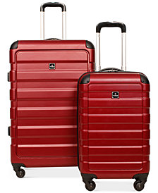 Tag Matrix Lightweight Hardside Spinner Luggage, Created for Macy's