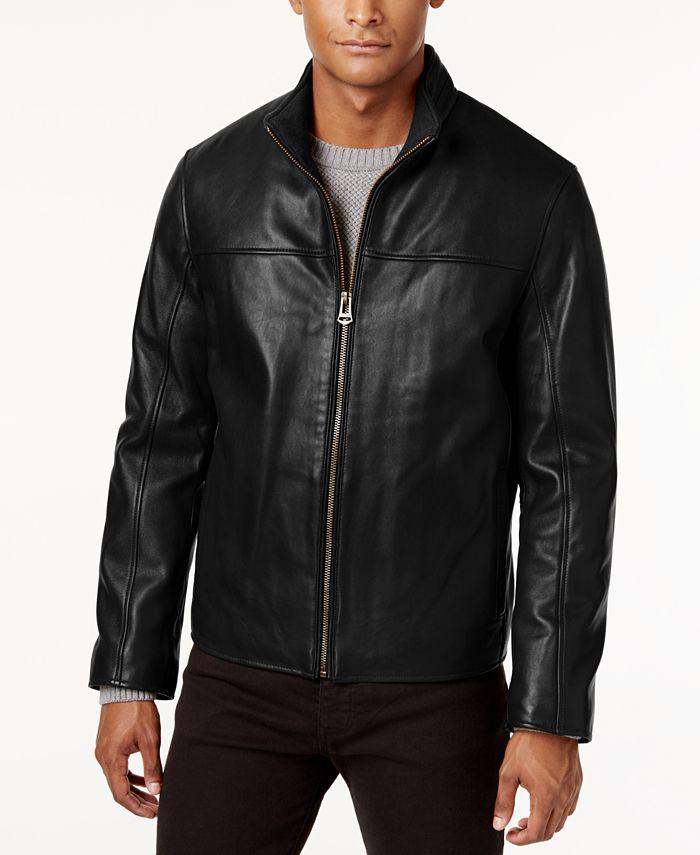 Cole Haan - Men's Leather Coat