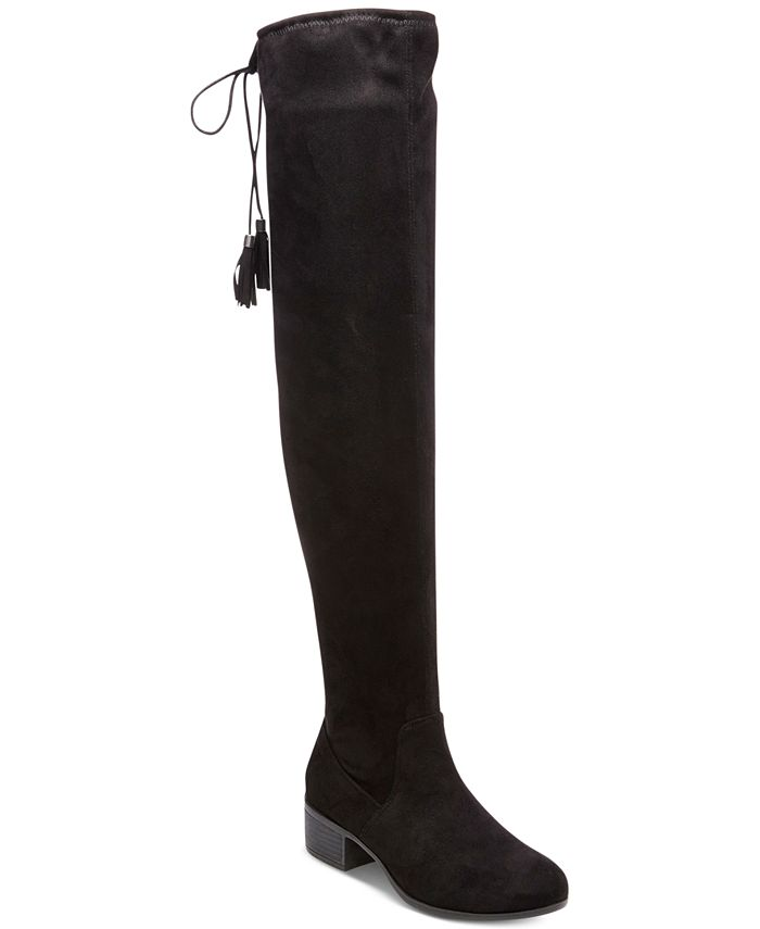 Madden Girl - Prissley Over-The-Knee Tassel Stretch Boots