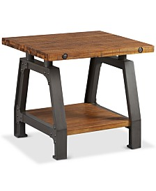 Macey End Table, Quick Ship